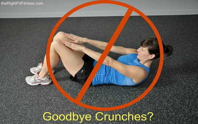 ARE CRUNCHES BAD FOR YOU?