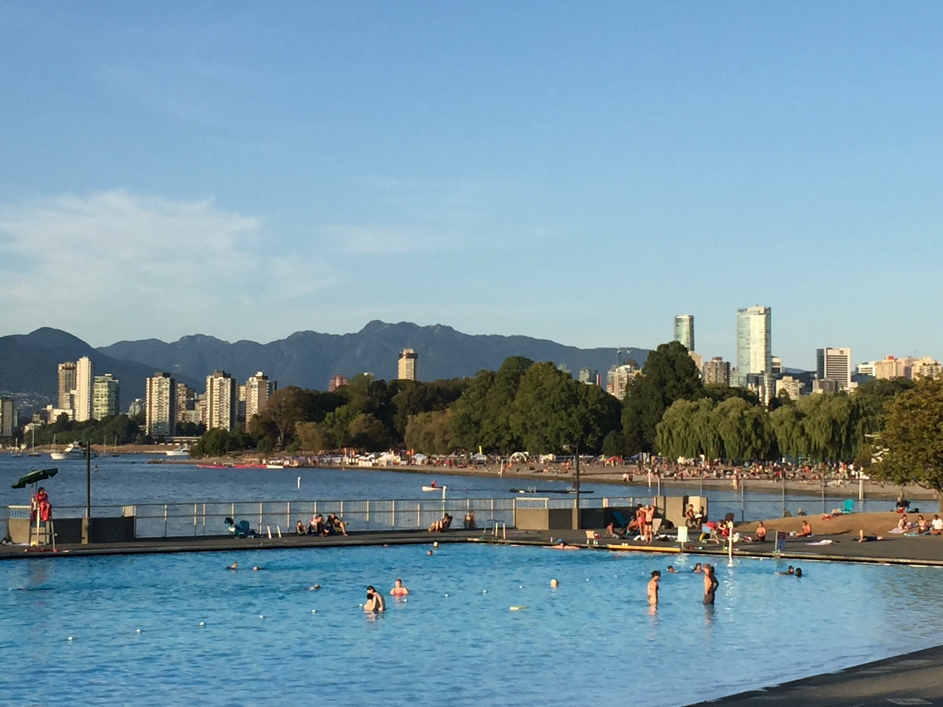 Kits Beach in Vancouver